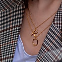 Initial R Necklace image