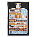A Guide To Whiskies Tea Towel image