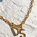 Monogramed Link Necklace image