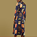 Imani Tie-Waist Silk Shirt Dress image