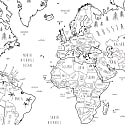World Map For Kids image
