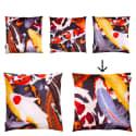 Koi II Large Velvet Floor Cushion Style 2 image