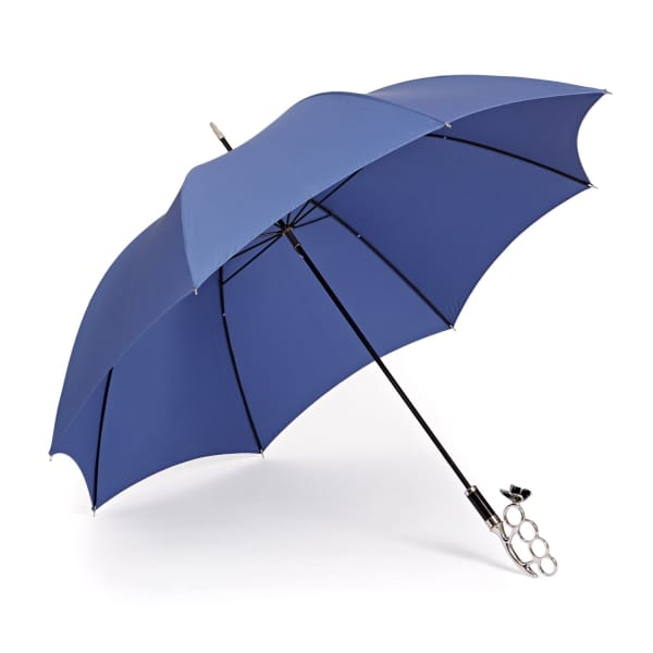 GIZELLE RENEE The Nirvana Long Blue Umbrella