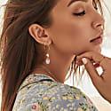 Seek For Light Gold Earrings image