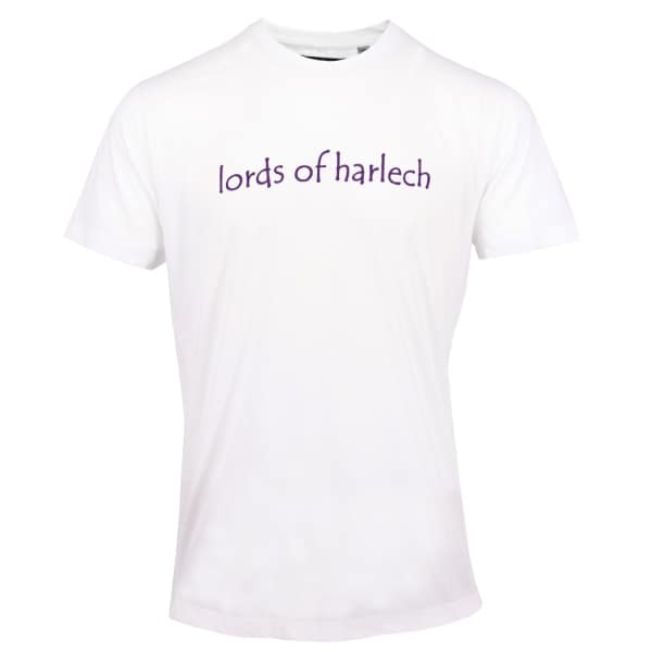 LORDS OF HARLECH Rob Logo Tee In White