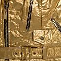 Women's Neo-Classic Biker Jacket In Gold image