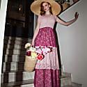 Ella Linen & Lace Dress image