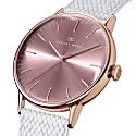 August Berg Serenity Rosegold Classic Ash & Orchid - White Perlon 40mm image