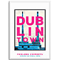 Poolbeg Chimneys Dublin Town Series image