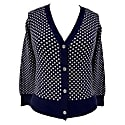 Dots Cotton Cardigan image