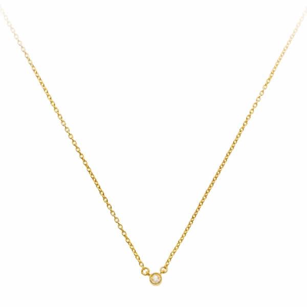 SHARON MILLS LONDON Lone Star Diamond Necklace
