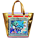 Oriental Tiger Giant Beach Bag Vegan Leather image