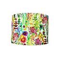 Drum Lamp Shade In Bright Wild Flowers, Liberty Design image