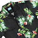Honolulu Linen Aloha Shirt In Black image