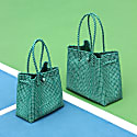 Toko Recycled Tote Bag In Green image