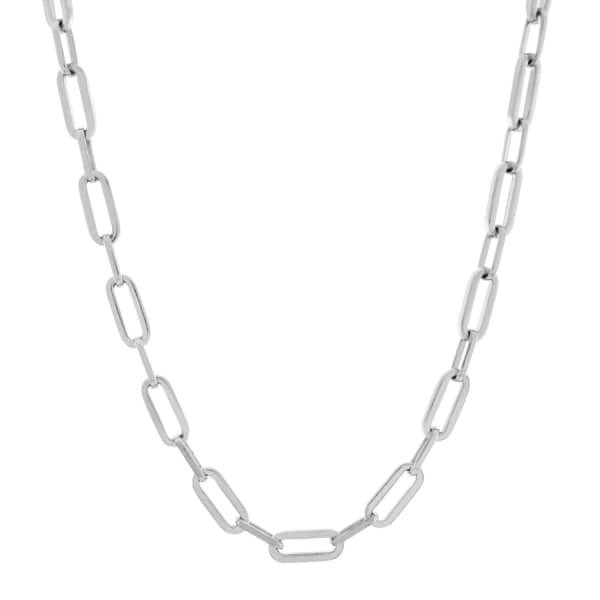 MONARC JEWELLERY Sterling Silver Suitor Necklace Chain