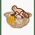 Mini Monkey Bread Basket Set Of 2 image