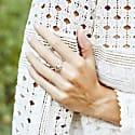 Large Margot Ring - Silver image