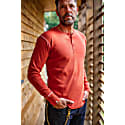 &Sons The New Elder Henley Shirt Vintage Red image