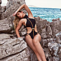 Cynosure One-Piece Swimsuit In Black image