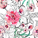 Amara Printed Floral Silk Brief image