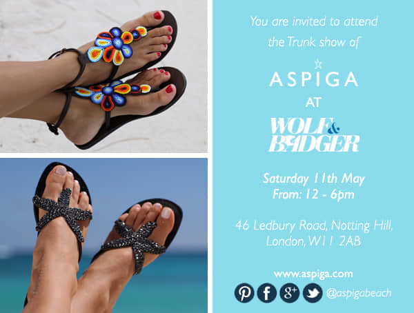 Aspiga Launch Party - Trunk Show