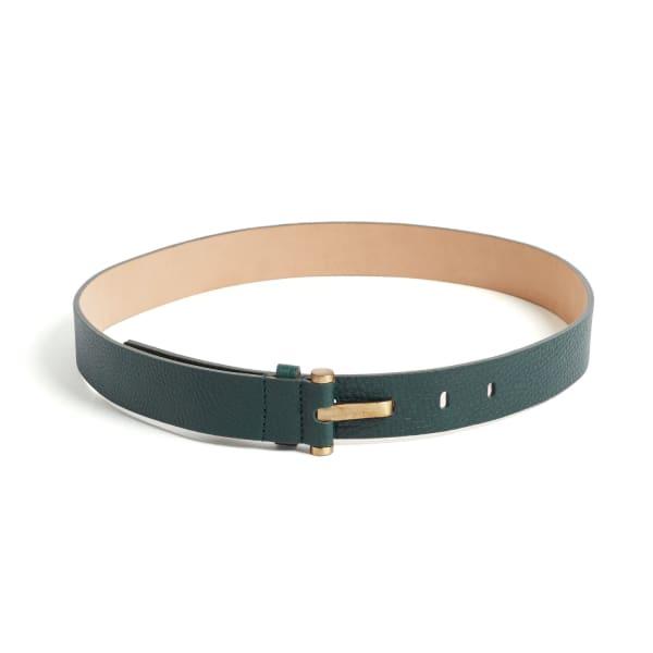 Alison Green Leather Waist Belt