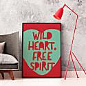 Wild Heart Free Spirit Giclée Print image