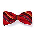 Red Striped Mara Self-Tie Bow Tie image
