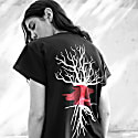 Black Uprooted T-Shirt image