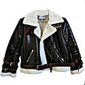 Brown Aviator Jacket image