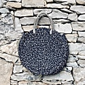 Milu Spots Round Basket Bag image
