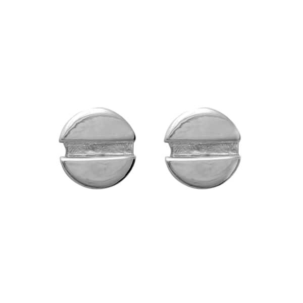 Flat Head Screw Earrings