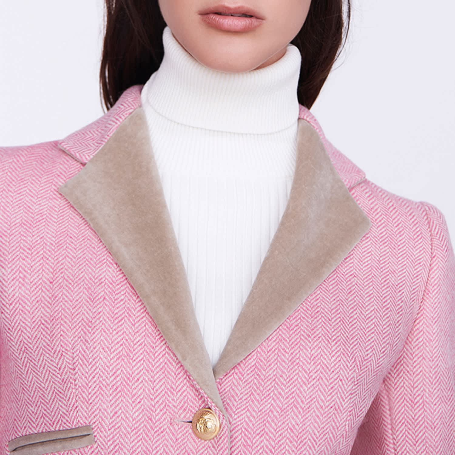 Light Pink Blazer Avelina The Extreme Collection Wolf Badger