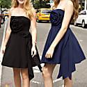 Navy Blue Rose Dress image