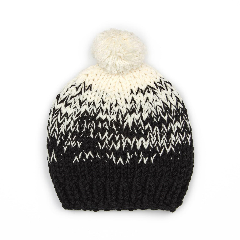 Ombre Hat Black to Cream  9409e30f424