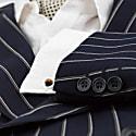 Cairn Cufflink - Tiger Eye & Silver image