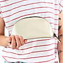 Lunar Gold Leather Make-Up Bag image