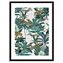 Tropical Jungle Animal Art Print image
