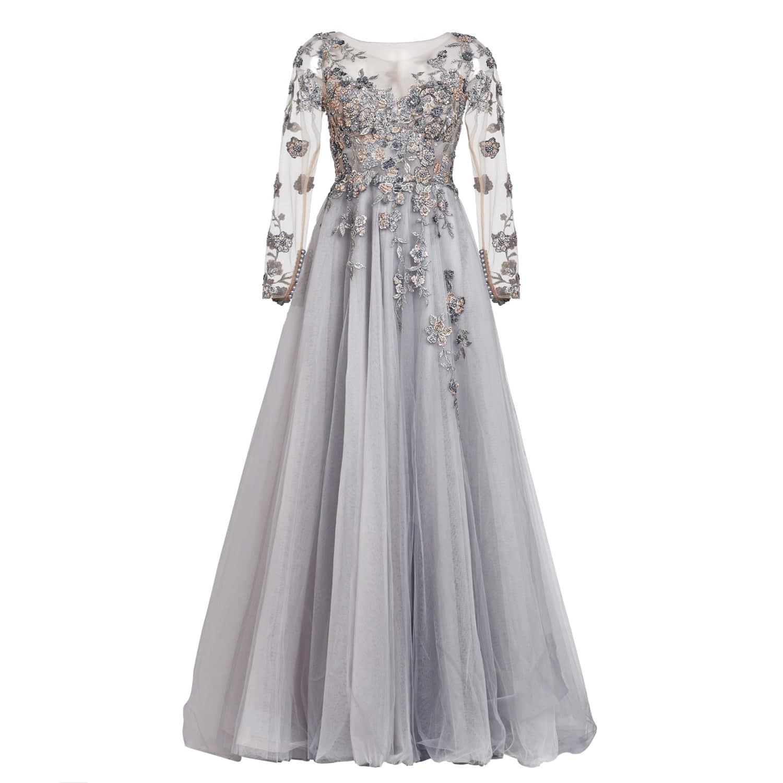 4ac9063230cb5 Couture Dress Charleen Gray | MATSOUR'I | Wolf & Badger