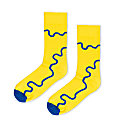 Yellow Cotton Socks featuring River Themes image