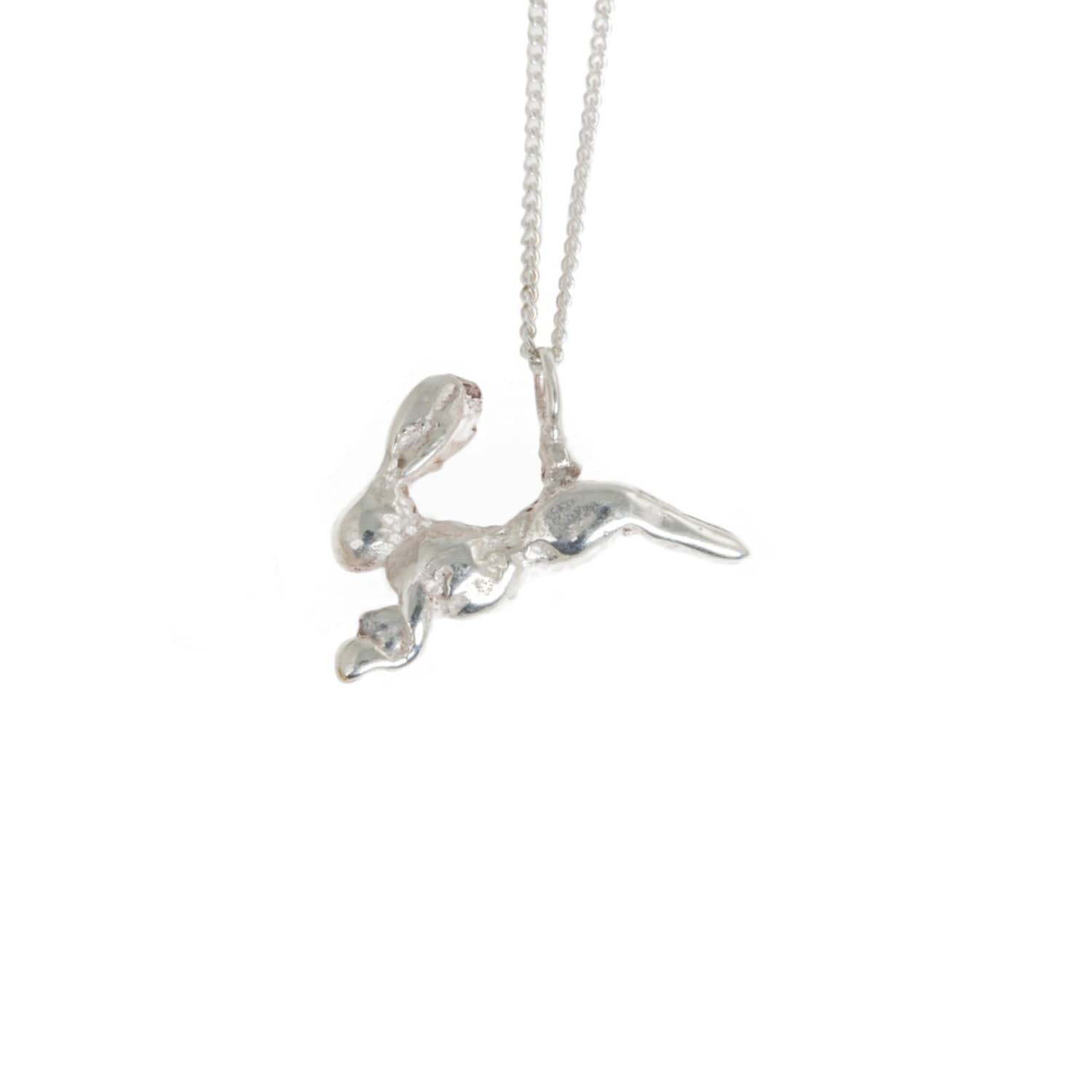 By Emily Silver Hare Necklace KzuADV9s