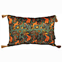 The Country Chicken Green Rectangle Cushion image
