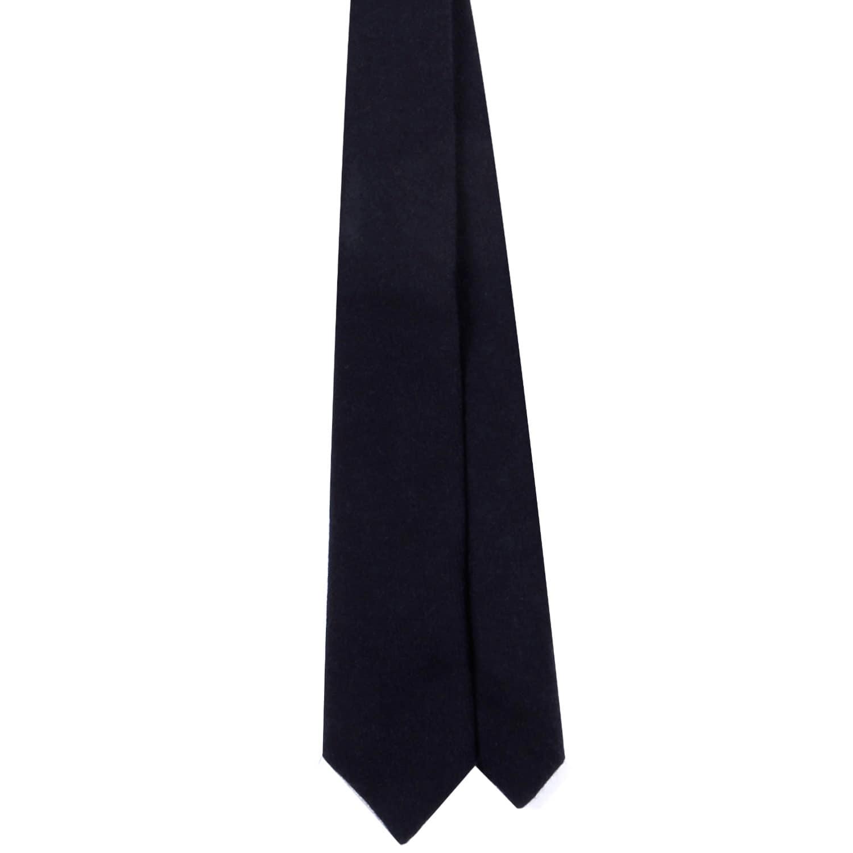 e81213a1edce Navy Merino Lambs Wool X Liberty Paisley Print Tie | EZRA AMARFIO ...