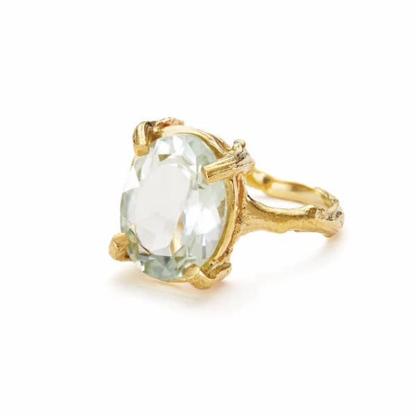 CHUPI Beauty In The Wild Ring Prasiolite & Gold