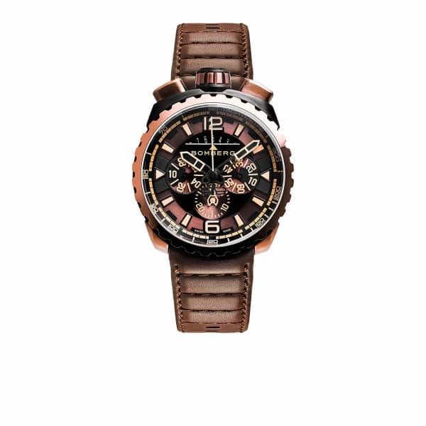 BOMBERG WATCHES Bolt Chronograph Brown & Black 050-2.3