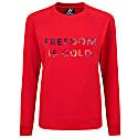Sweatshirt Freedom Is Gold Hologramic Red image