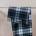 Lambswool Oversized Scarf In Gordon Dress Tartan image
