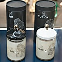 Scented Luxury Natural Wax Candle - Skull Candle Yorick image