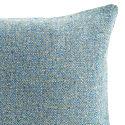 Spring Squill Pale Blue Herringbone Harris Tweed Cushion image